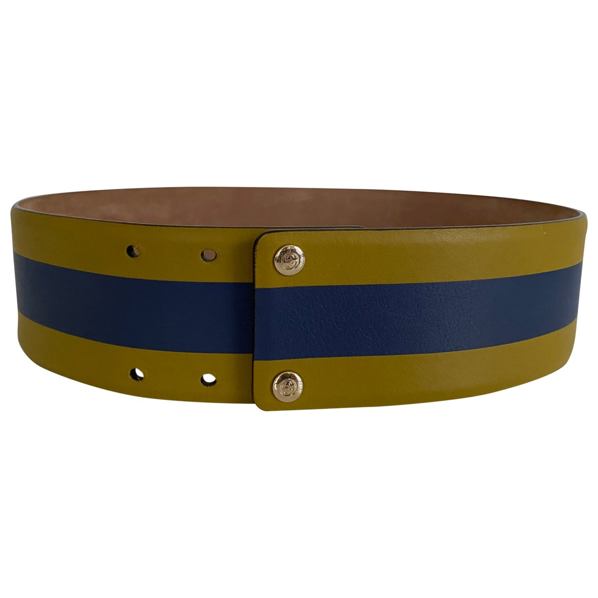 Gucci \N Green Leather belt for Women 70 cm