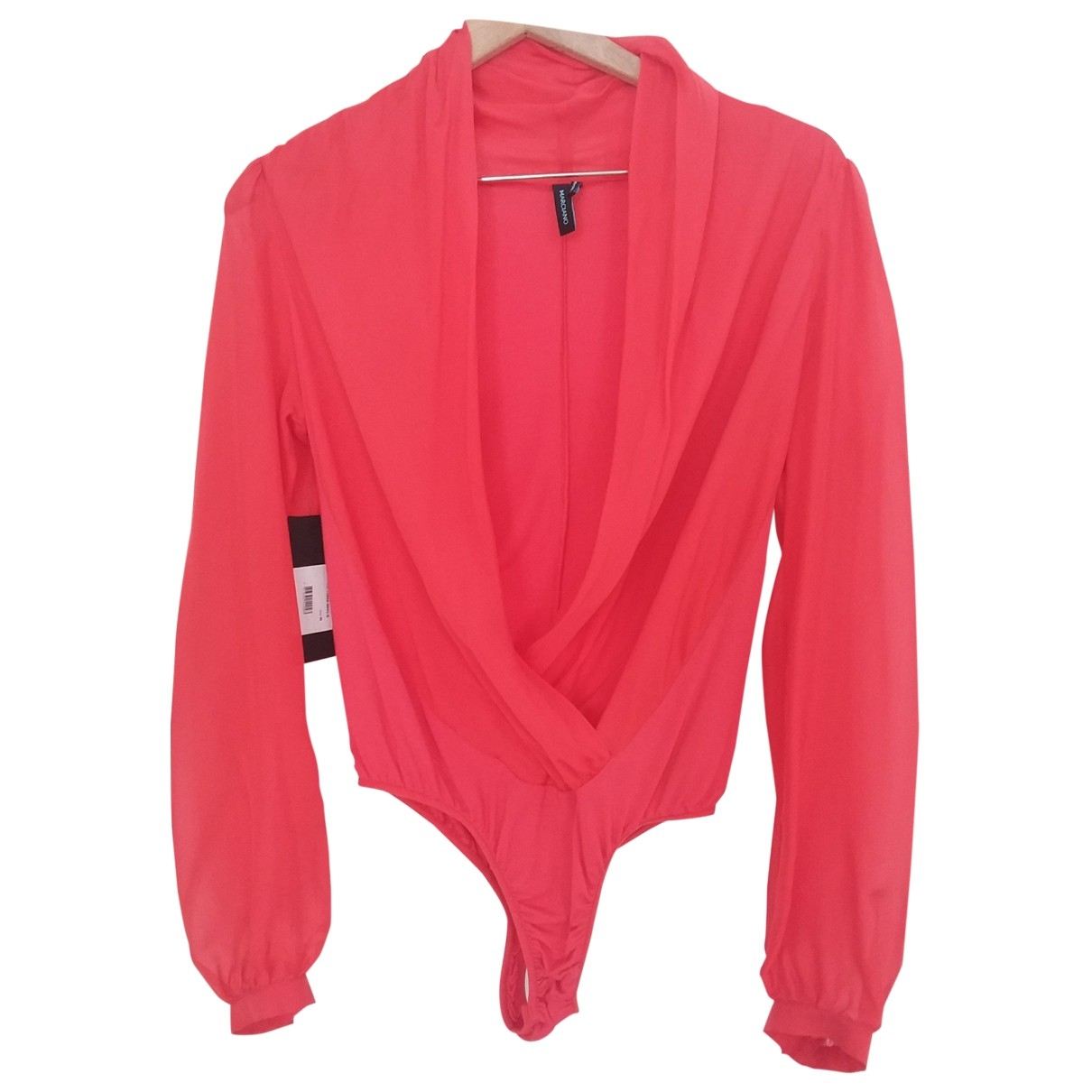 Guess \N Red Silk  top for Women M International