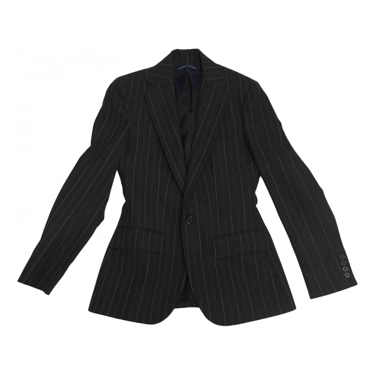 Ralph Lauren N Grey Wool jacket for Women 2 US