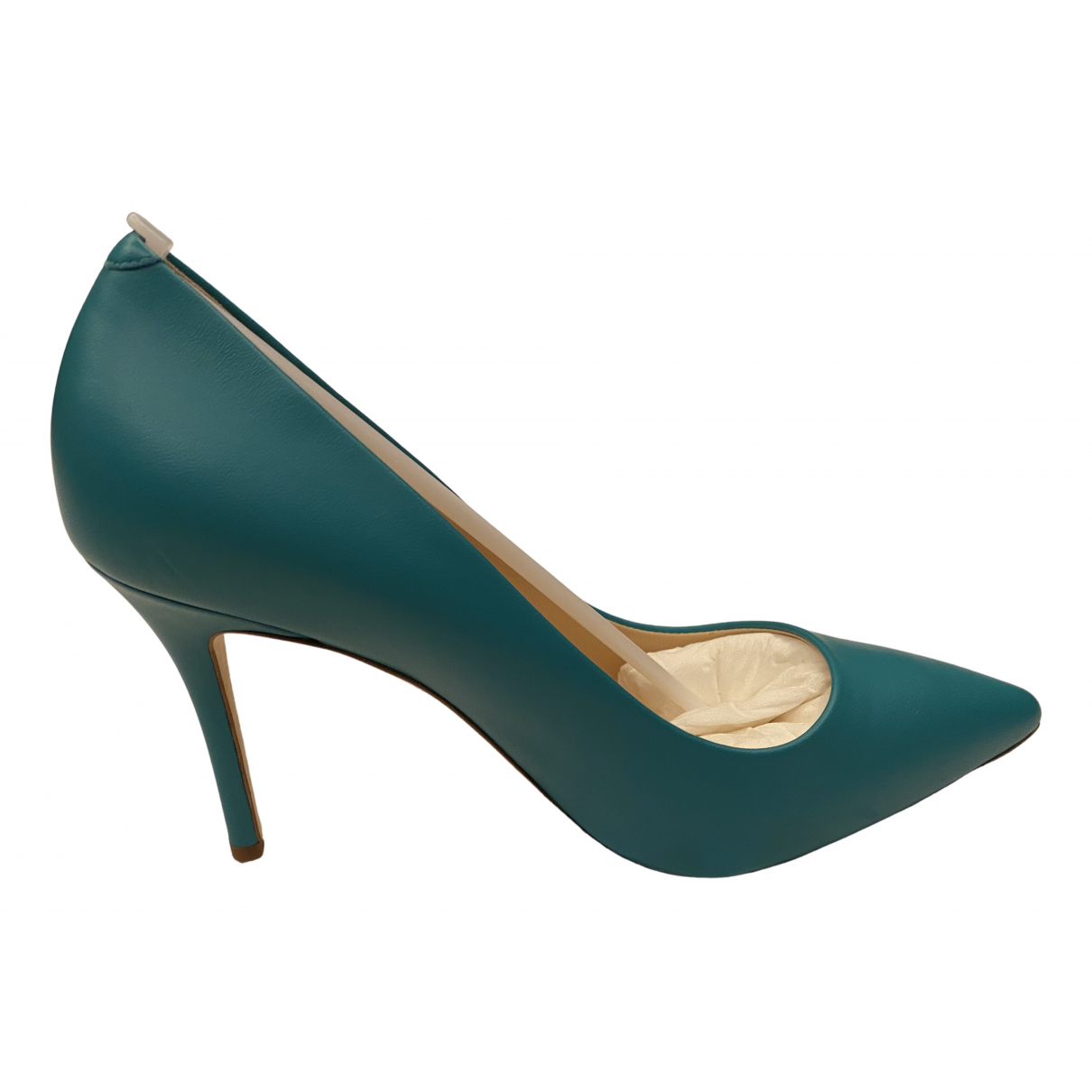 Giuseppe Zanotti \N Blue Leather Heels for Women 37 EU