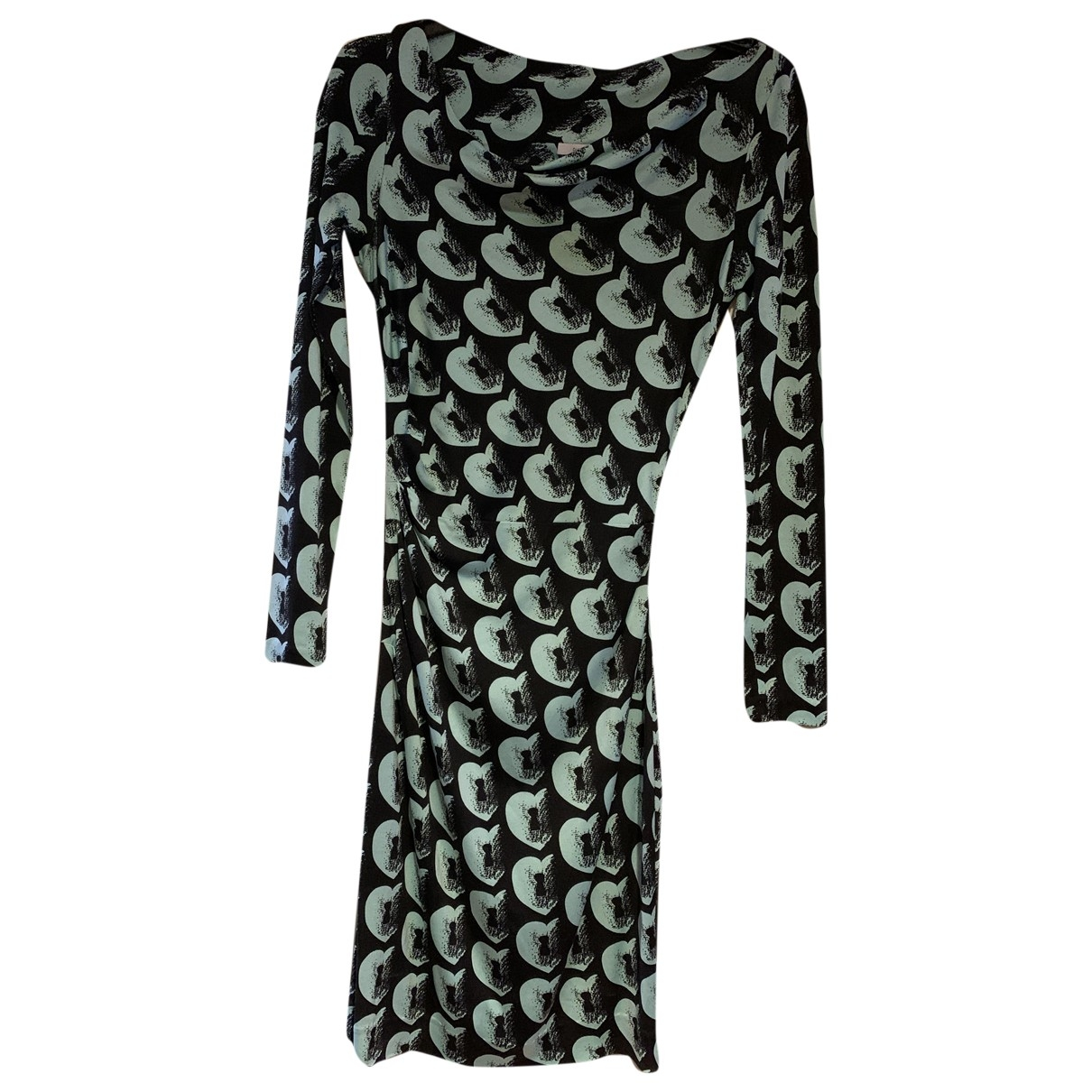 Diane Von Furstenberg \N Multicolour Silk dress for Women 2 US