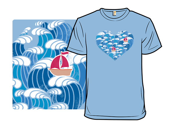Ocean Of Love T Shirt