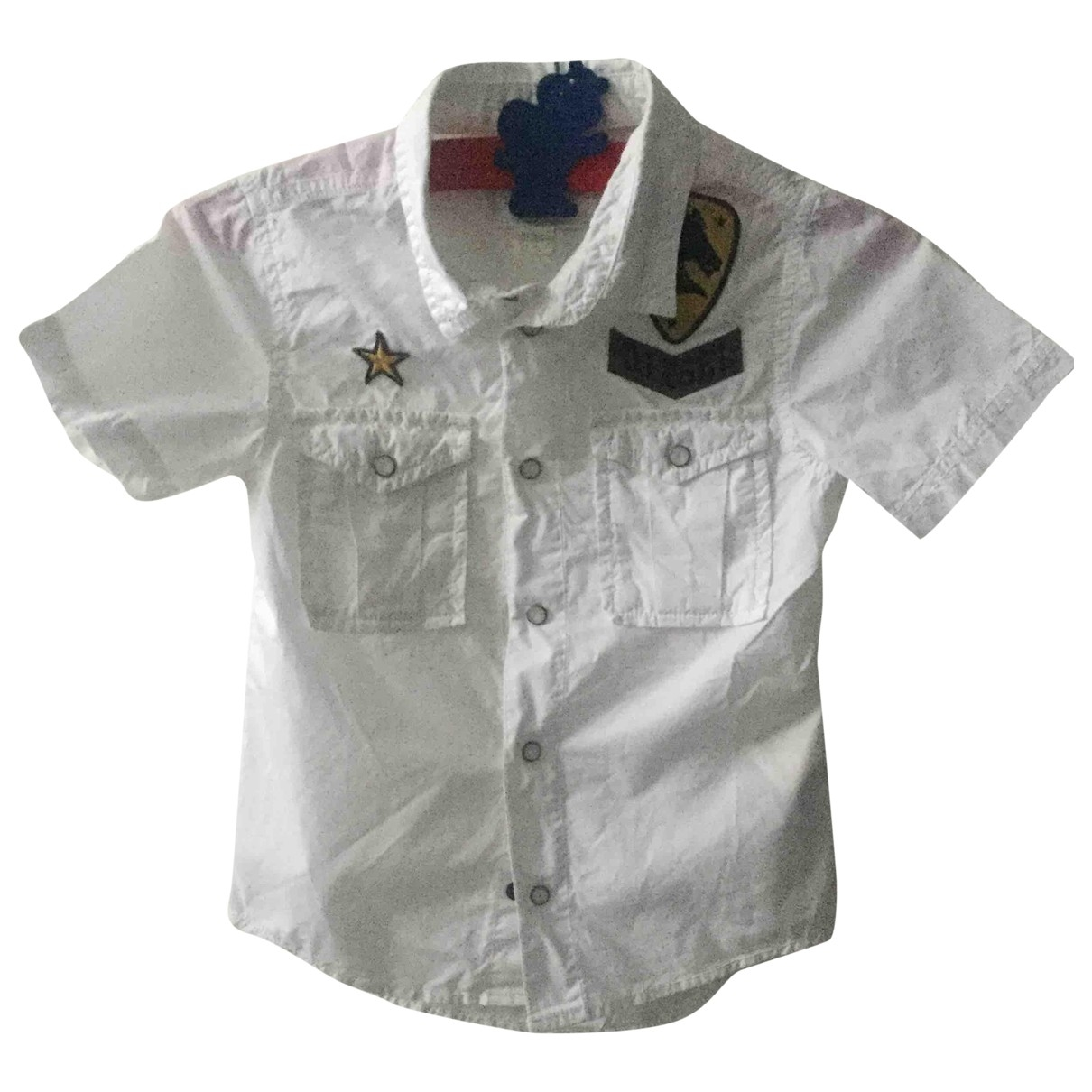 Diesel \N White Cotton  top for Kids 4 years - until 40 inches UK