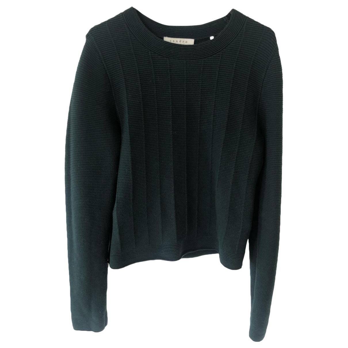 Sandro \N Green Cotton Knitwear for Women 1 0-5