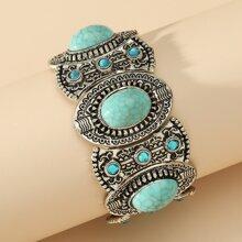Turquoise Decor Bracelet