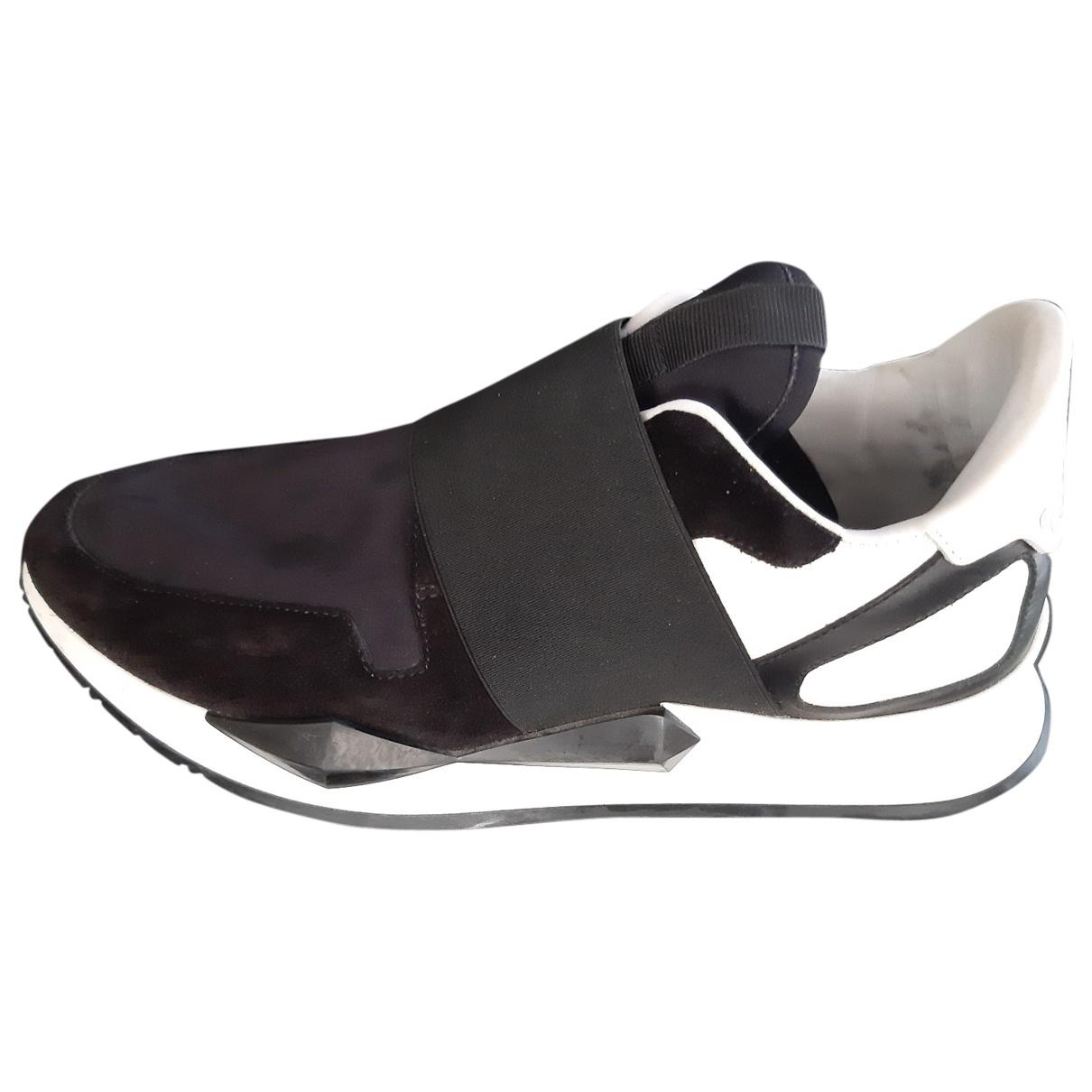 Givenchy - Baskets   pour femme en toile - noir