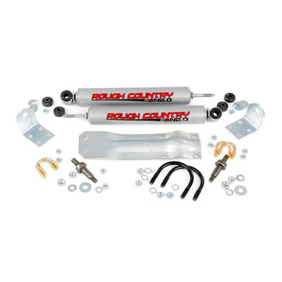 Rough Country Dodge Dual Steering Stabilizer - 8732130