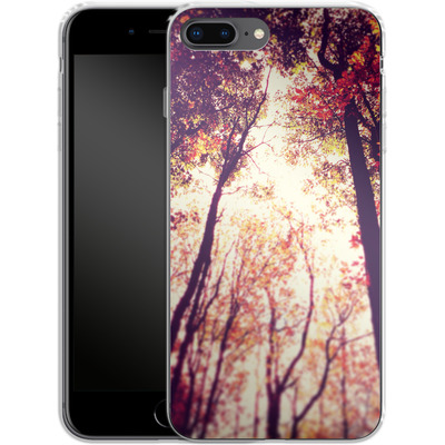 Apple iPhone 8 Plus Silikon Handyhuelle - Above and Beyond von Joy StClaire