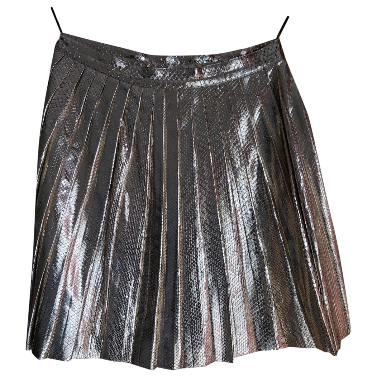 Falda midi de Piton Gucci