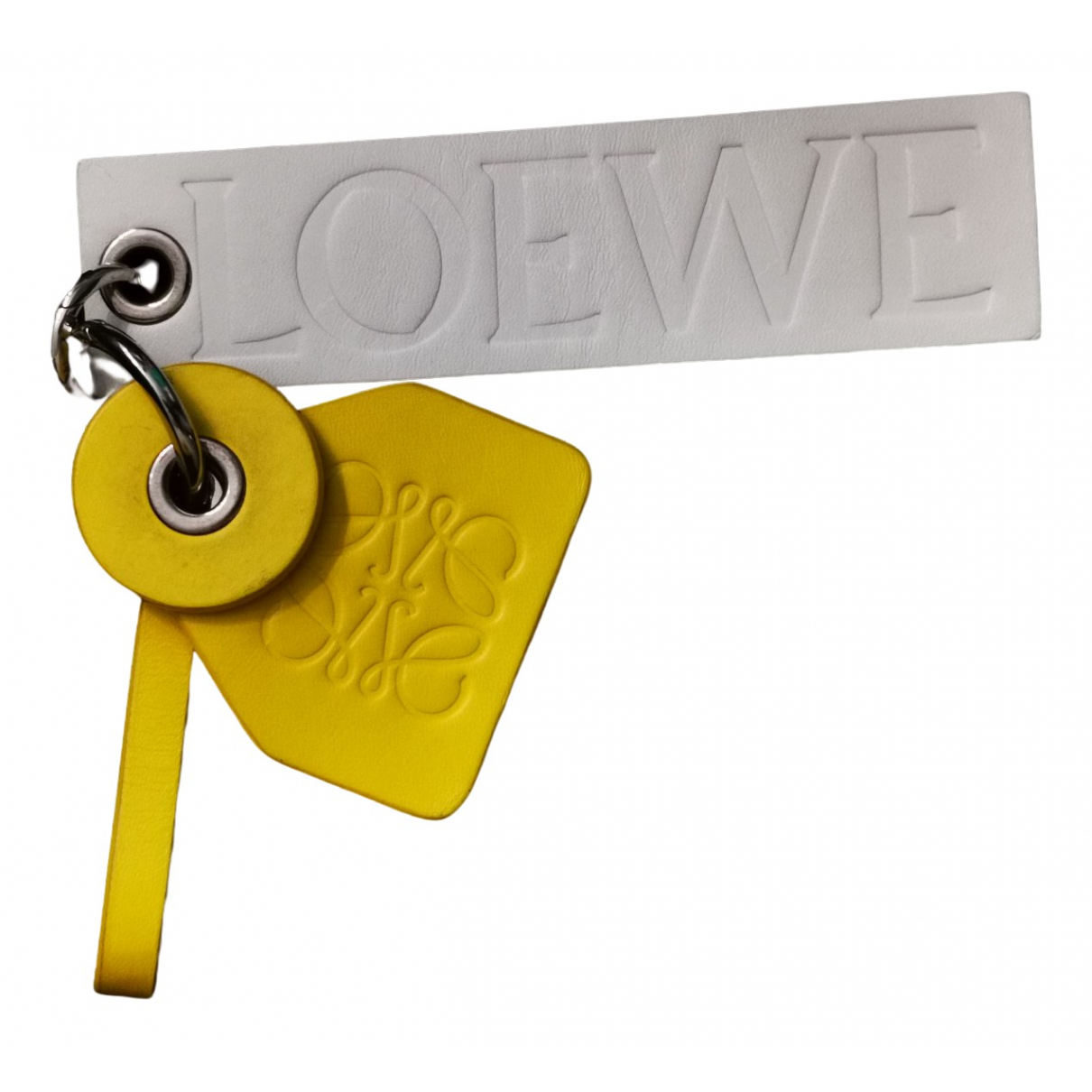 Loewe \N Kleinlederwaren in  Gelb Leder