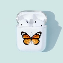 1 Stueck Airpods Huelle mit Schmetterling Muster