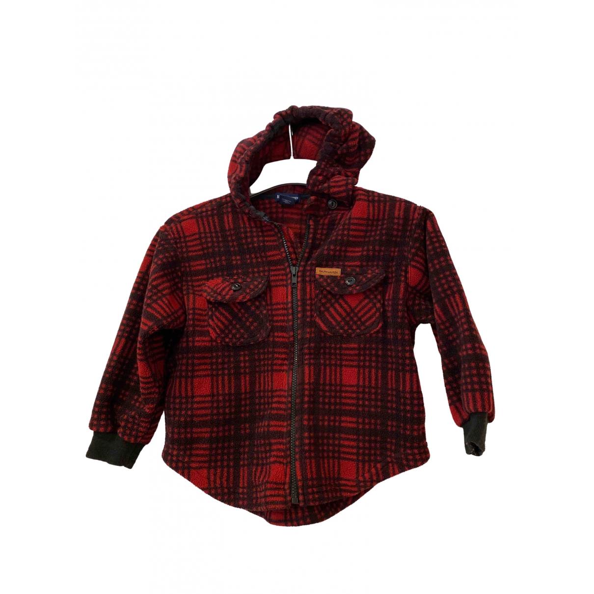 Ralph Lauren \N Jacke, Maentel in  Rot Polyester