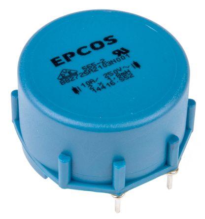 EPCOS 1.8 mH ±30% Ferrite Current Compensated Choke, 10A Idc, 14mΩ Rdc, B82721A