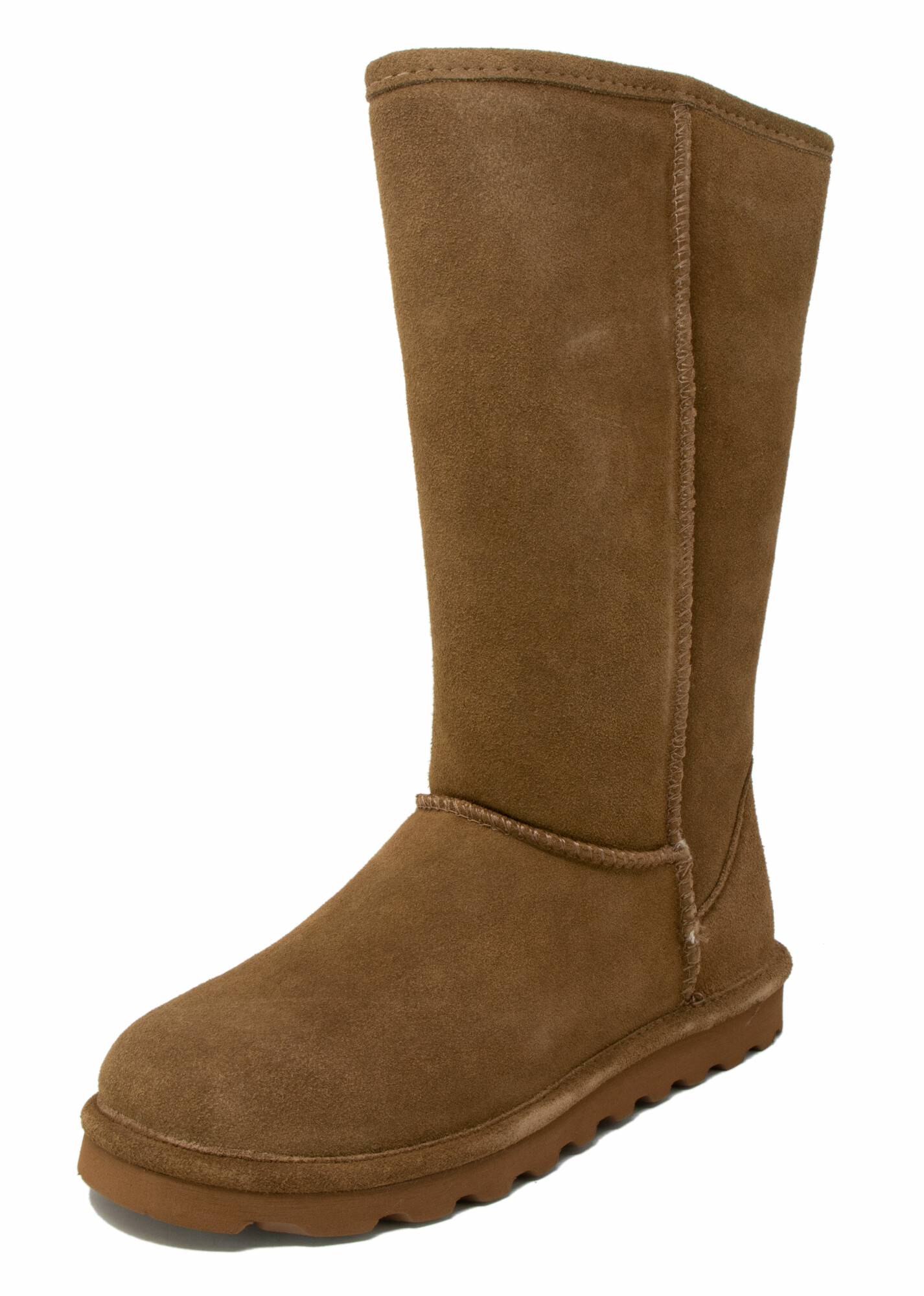 Bearpaw Women's Elle Tall Mid-Calf Suede - 10M - Hickory Ii