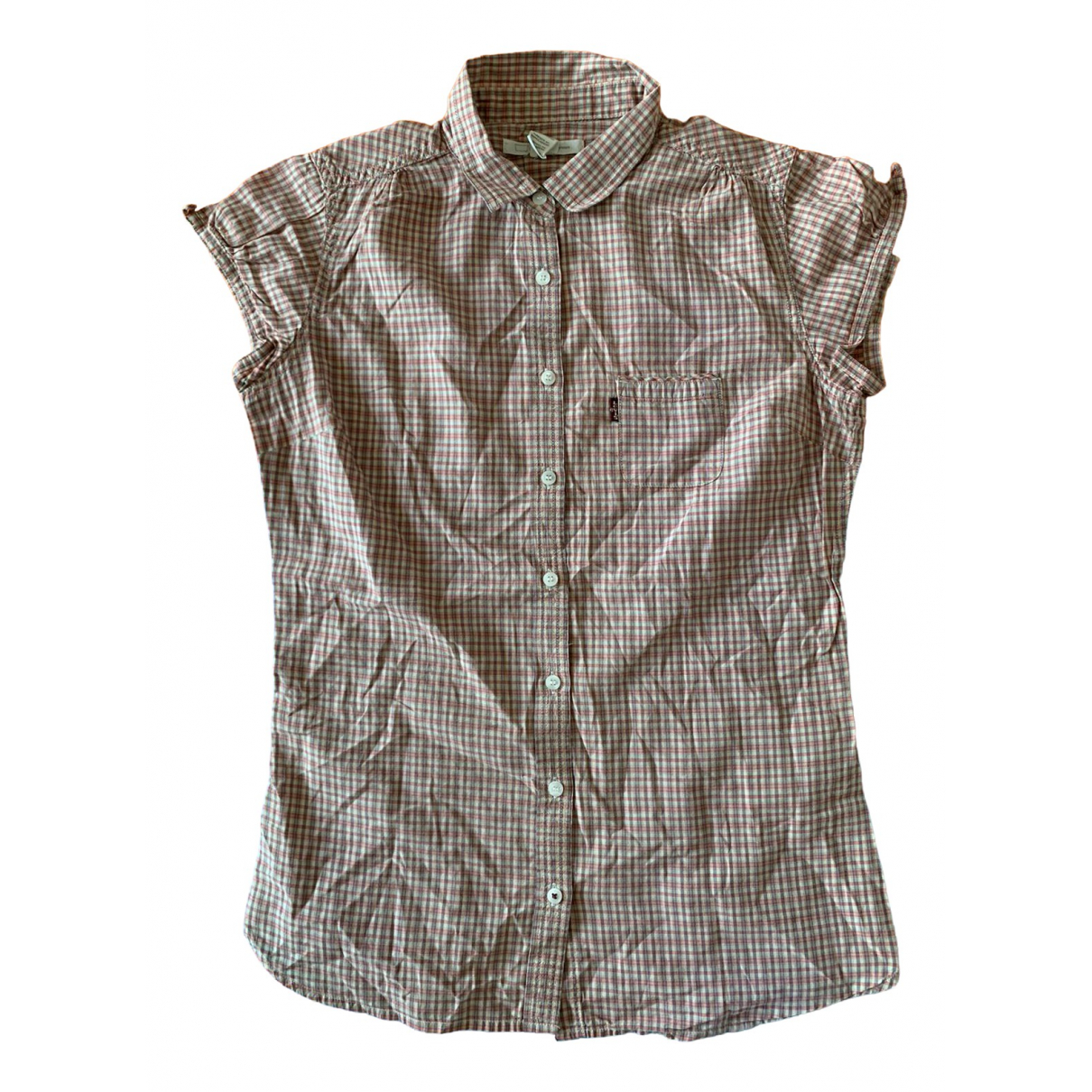 Levi's \N Brown Cotton  top for Women XS International