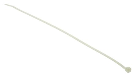 HellermannTyton , T30LR Series Natural Nylon Cable Tie, 260mm x 3.3 mm