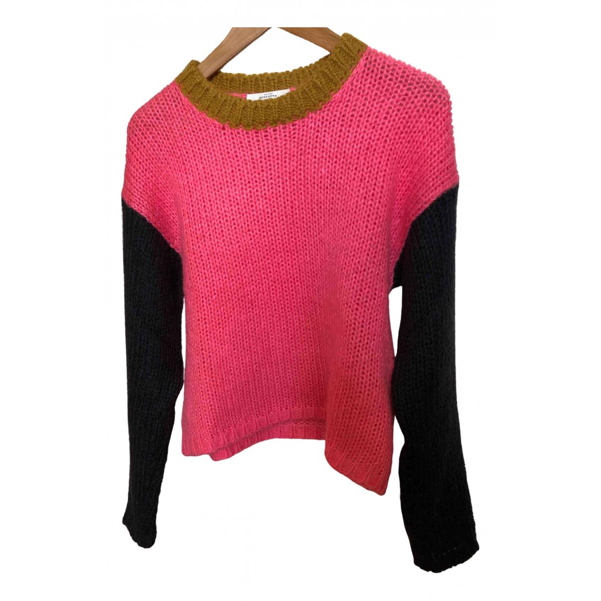 Roseanna N Pink Wool Knitwear for Women 38 FR