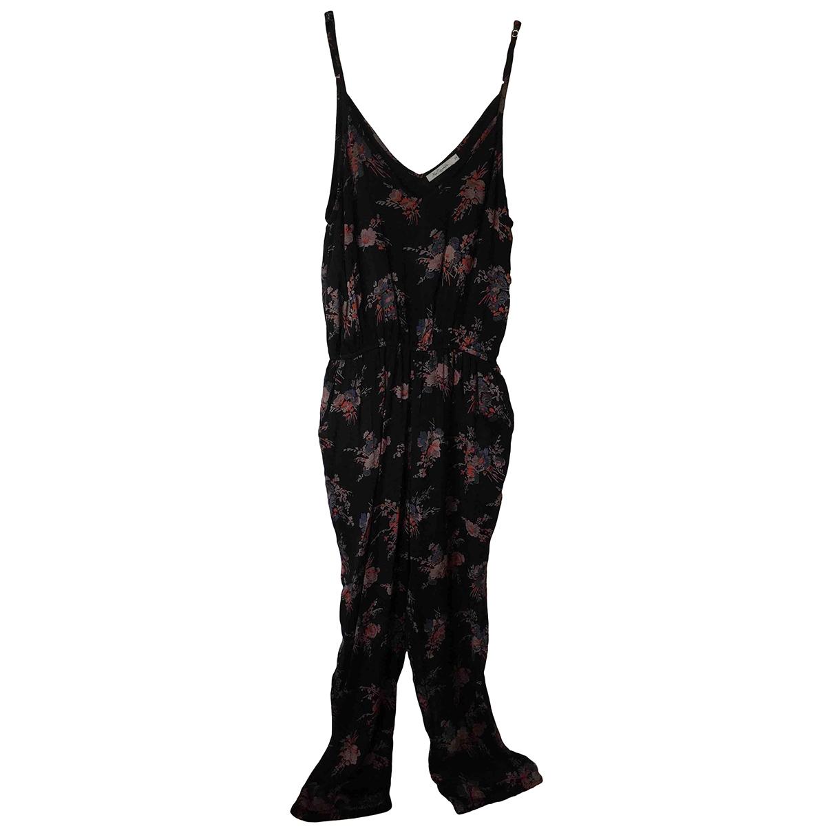 Mes Demoiselles ... \N Black Cotton jumpsuit for Women 36 FR