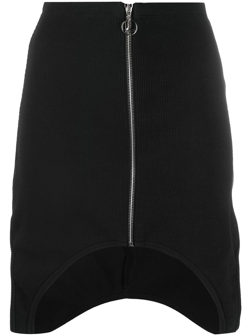 Cut-out Details Skirt