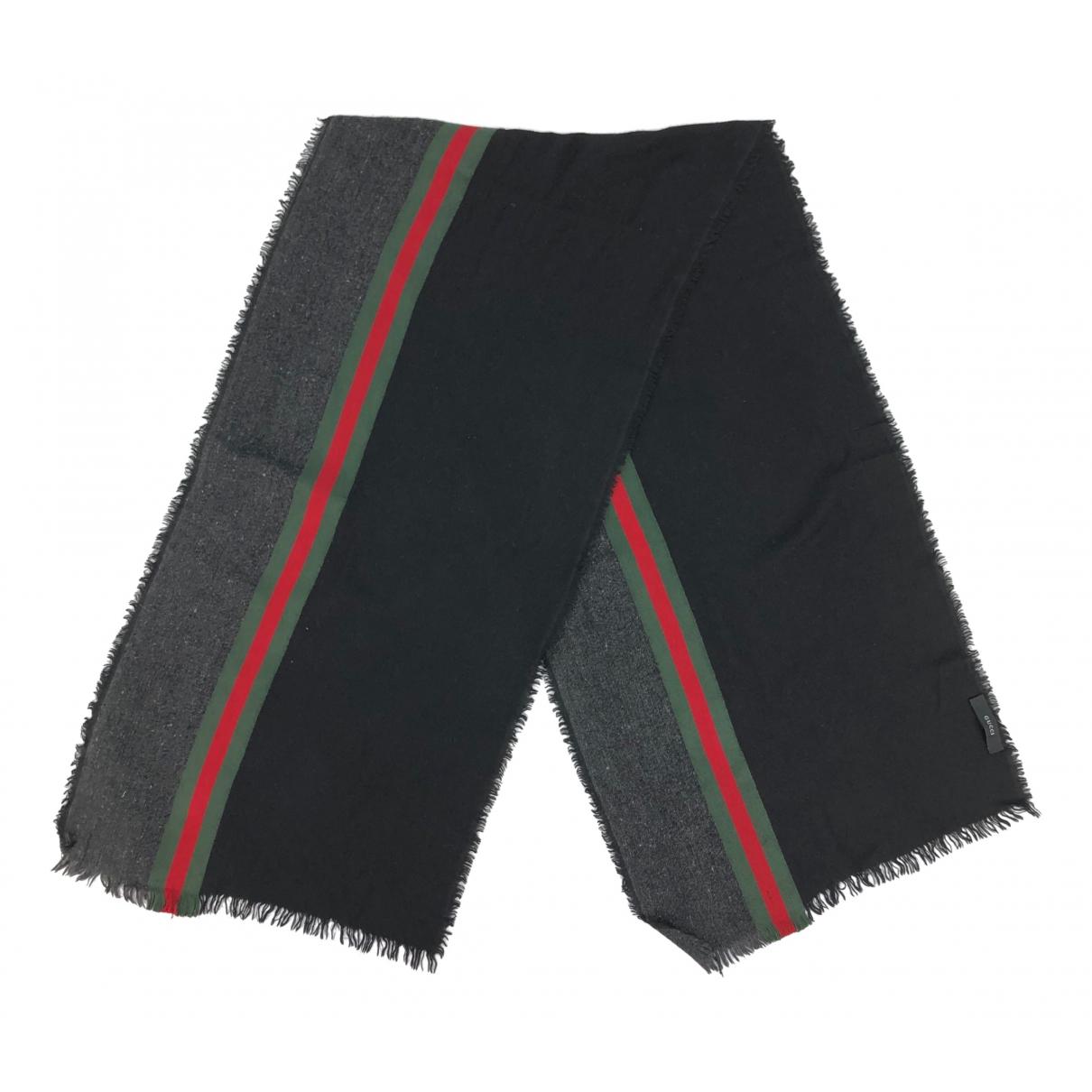 Gucci \N Schal in  Schwarz Wolle
