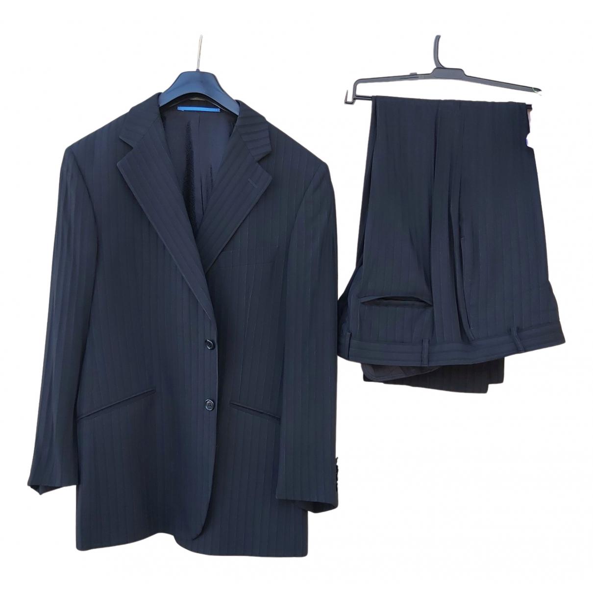 Non Signé / Unsigned N Black Suits for Men L International