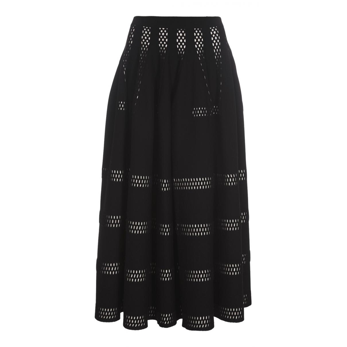 Alaia - Jupe   pour femme en laine - multicolore