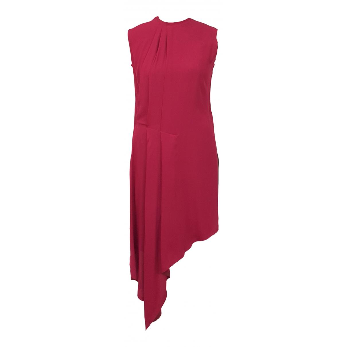 Maison Martin Margiela \N Kleid in  Rot Seide