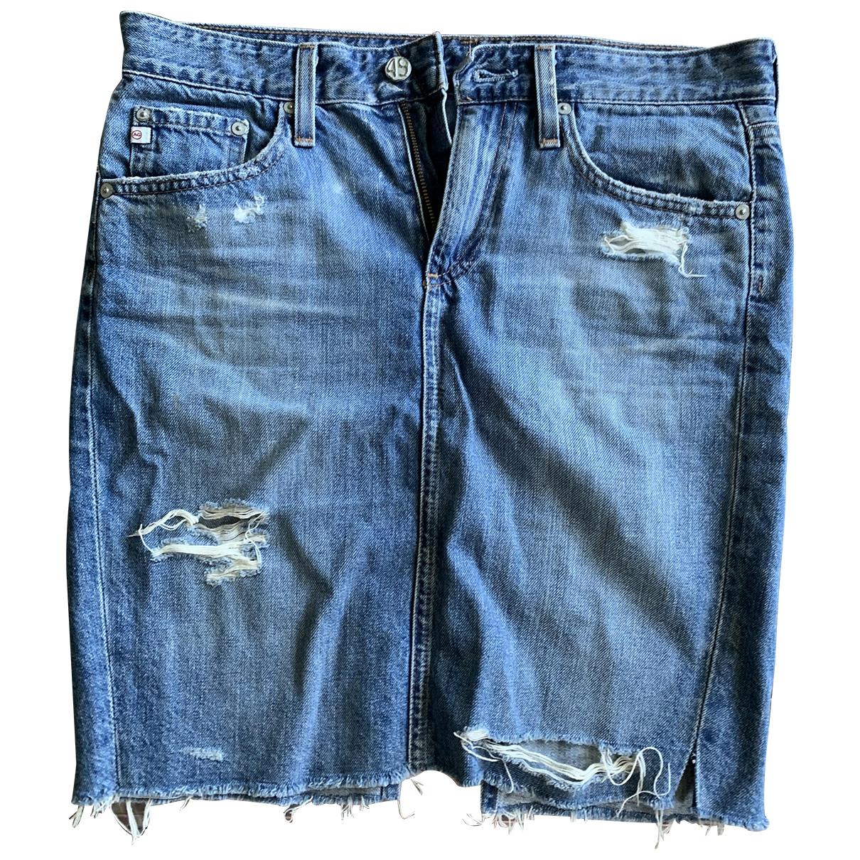 Adriano Goldschmied \N Rocke in  Blau Denim - Jeans