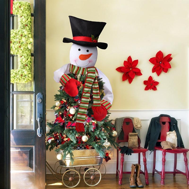 Ericdress Christmas Tree Top Snowman Ornament
