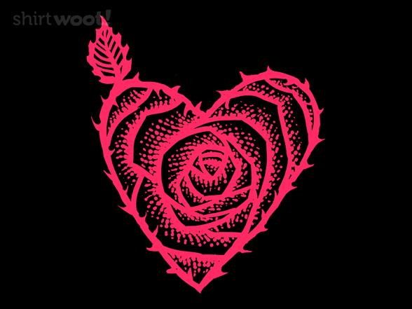 I Love Roses T Shirt