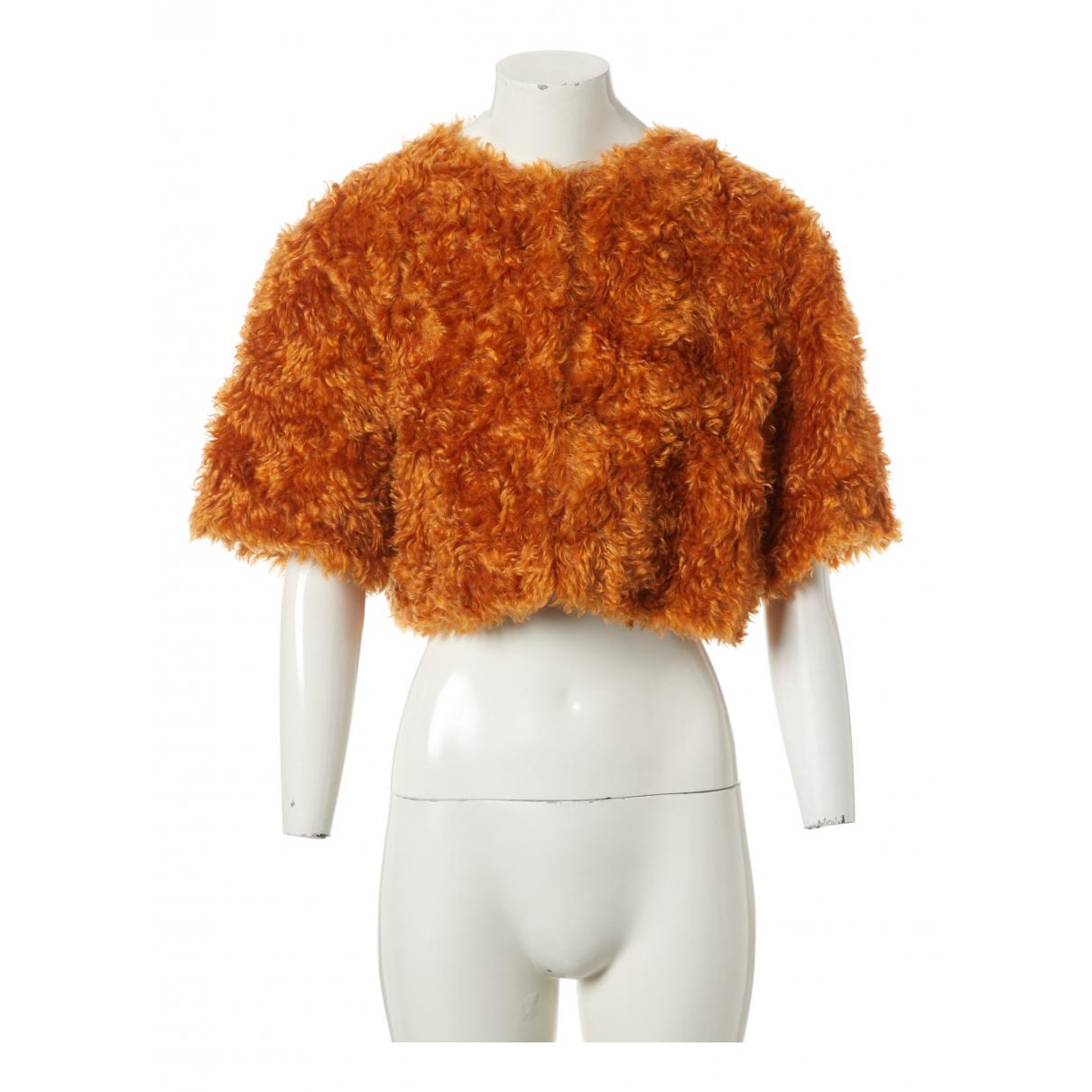 Prada \N Orange Wool jacket for Women 44 IT
