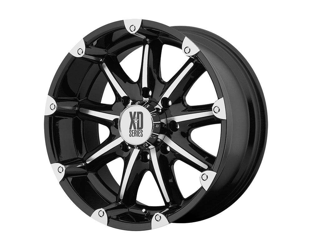 XD Series XD77929068312N XD779 Badlands Wheel 20x9 6x6x139.7 -12mm Gloss Black Machined