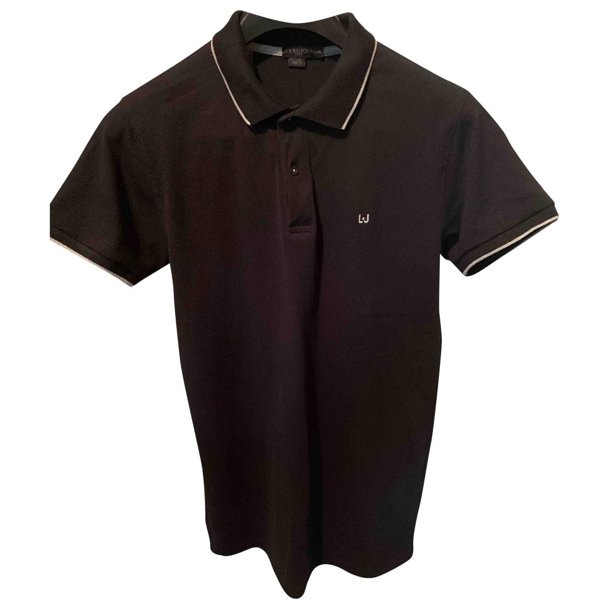 Liu.jo - Polos   pour homme en coton - noir