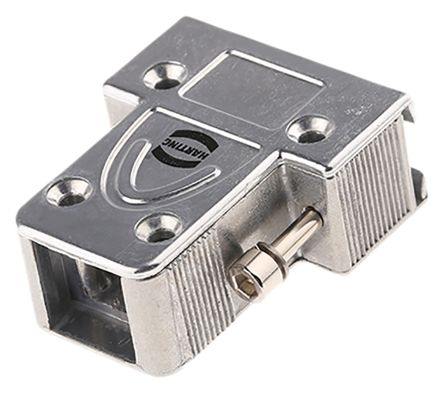 HARTING , D-sub Metal D-sub Connector Backshell, 9 Way