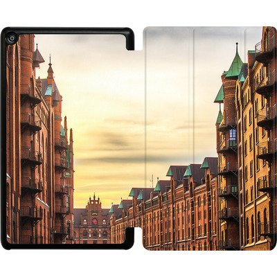 Amazon Fire HD 8 (2018) Tablet Smart Case - Speicherstadt von caseable Designs