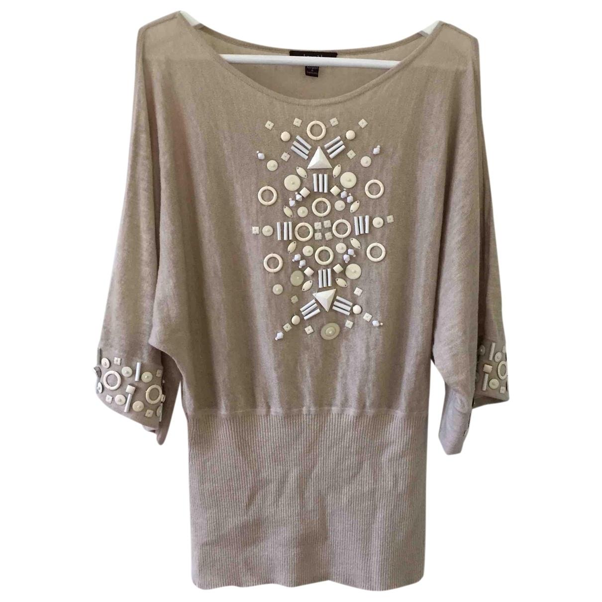 Laurel \N Ecru Linen  top for Women 34 FR