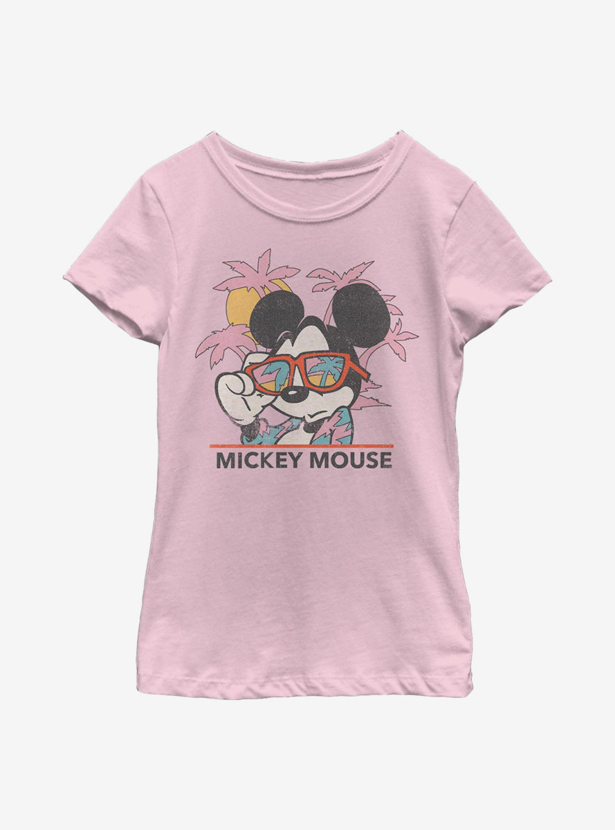 Disney Mickey Mouse Beach Youth Girls T-Shirt