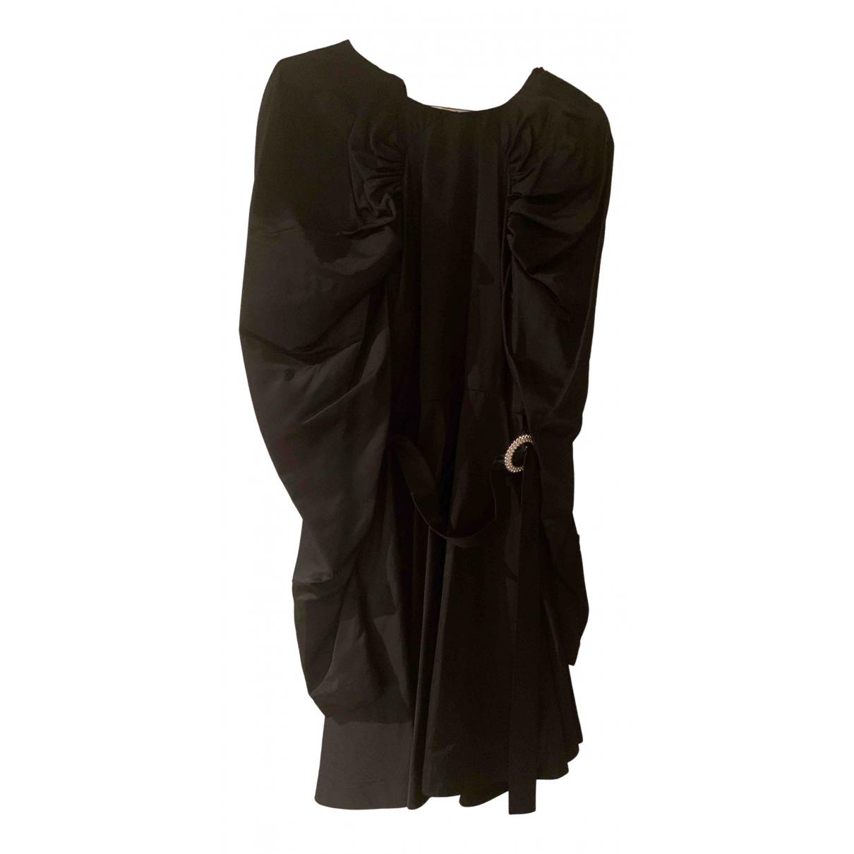 Rotate \N Kleid in  Schwarz Viskose