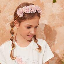 Accesorio de pelo de niñitas con diseño de flor