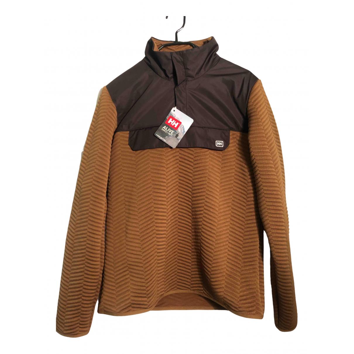 Helly Hansen \N Pullover.Westen.Sweatshirts  in  Braun Baumwolle