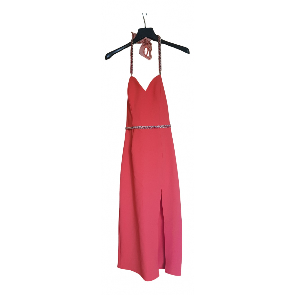 Elisabetta Franchi \N Kleid in  Rot Polyester