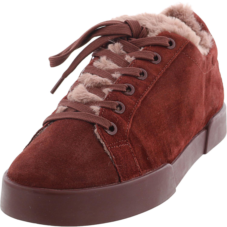 Kenneth Cole Women's Tyler Cozy Sneaker Wine Ankle-High - 9.5M