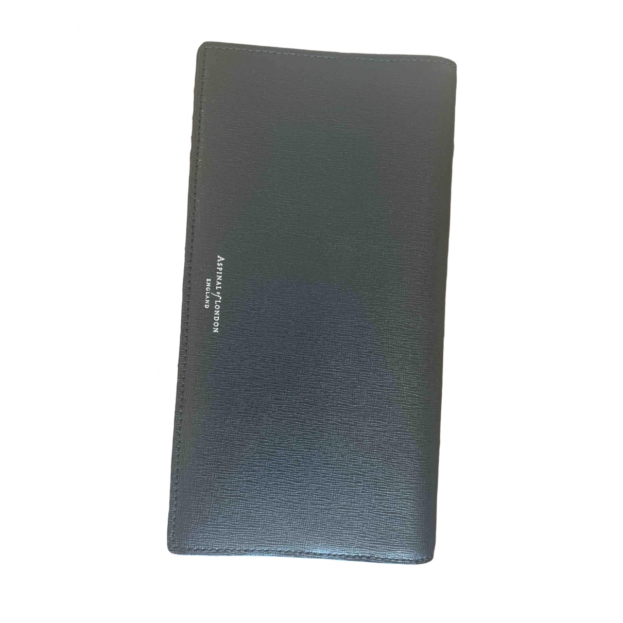 Aspinal Of London \N Black Leather Purses, wallet & cases for Women \N