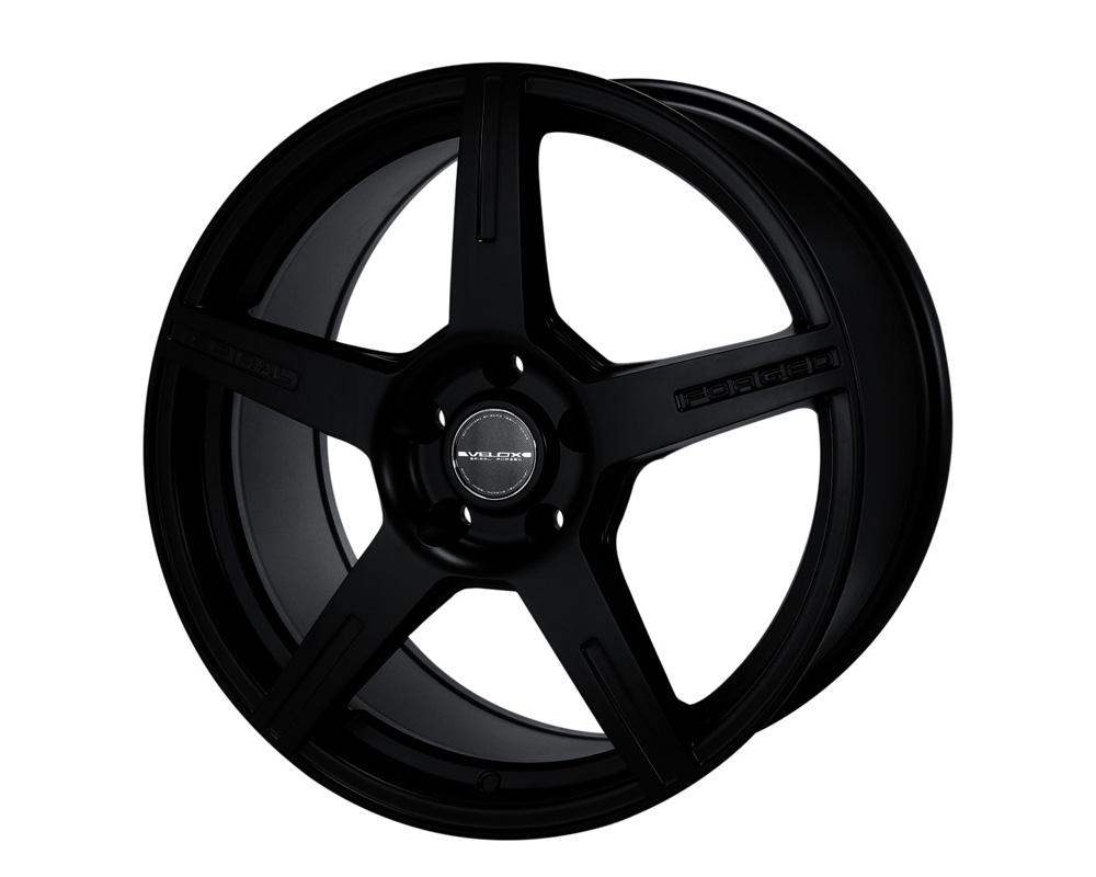 Velox Revolt Black Wheel 17x7.5 5x108/115 40
