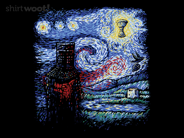 Starry Knight T Shirt