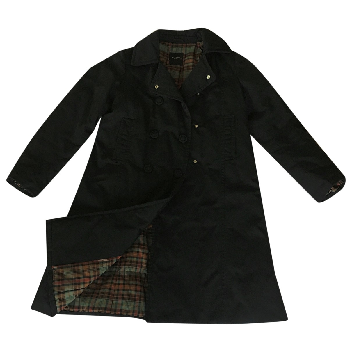 Max Mara Weekend \N Black coat for Women 38 FR