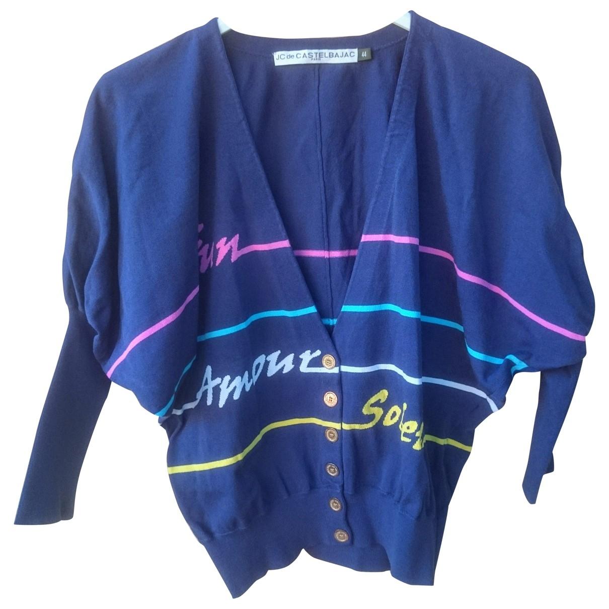 Jc De Castelbajac \N Blue Knitwear for Women 44 IT