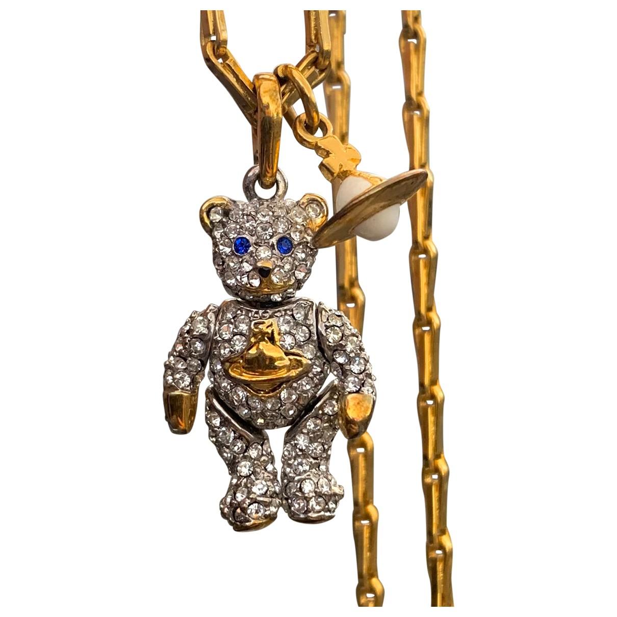 Vivienne Westwood N Gold Metal necklace for Women N