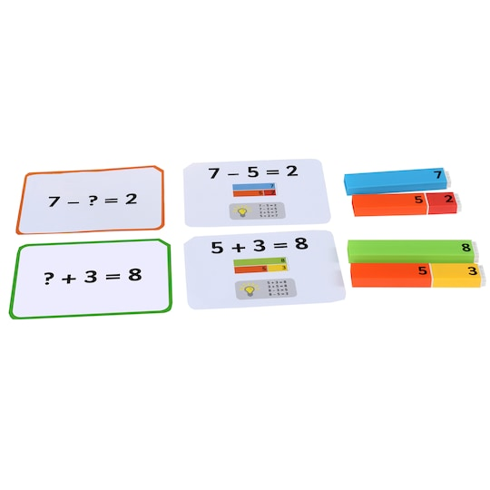 Connecting Number Rods Work Cards By Educational Advantage | Michaels®