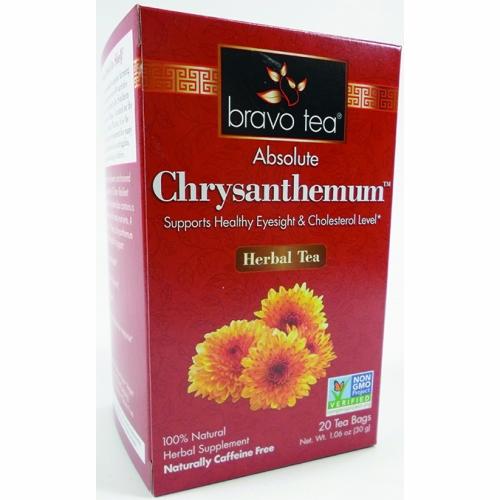 Absolute Chrysanthemum Tea 20 Bags by Bravo Tea & Herbs